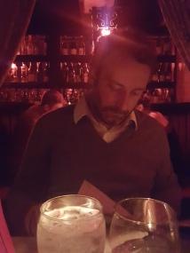 Fondue dinner at Geja's Restaurant in Chicago