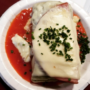 Maultaschen at the Christimas Market