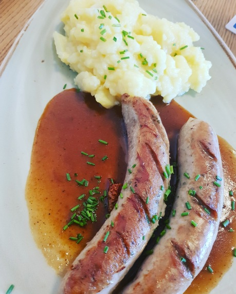 Rote Wurst at Cafe Königsbau