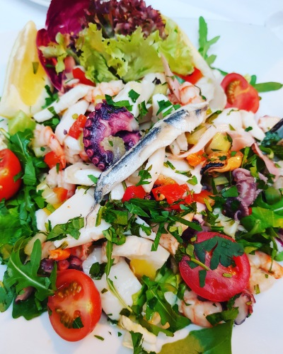 Seafood Salad at Empore